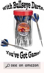 Best Darts BullsEye Steel Tip Darts 24 Pack – Review of a Best Dart Flights 2017