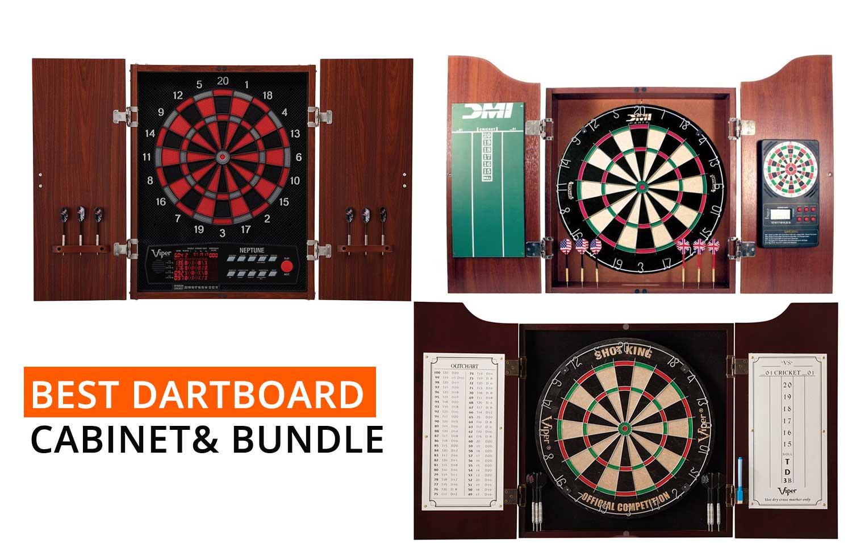 best-dartboard-cabinet-bundle